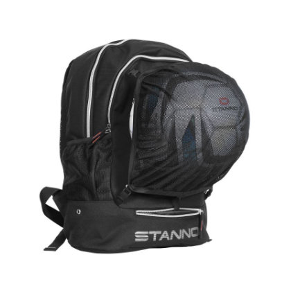 Stanno backpack with net black