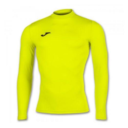 Joma brama academy shirt fluorescent yellow