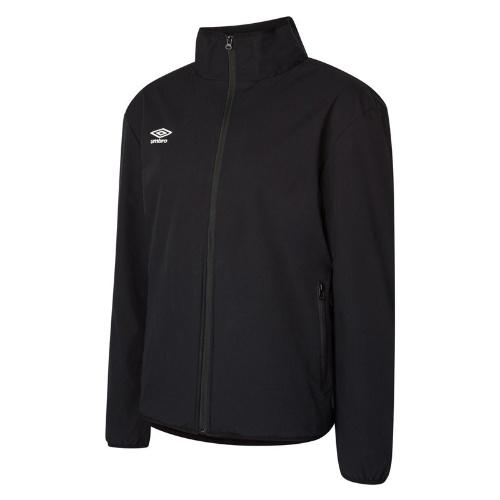 Umbro club essential bonded jacket black