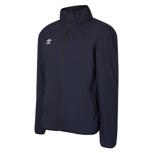 Umbro club essential bonded jacket navy