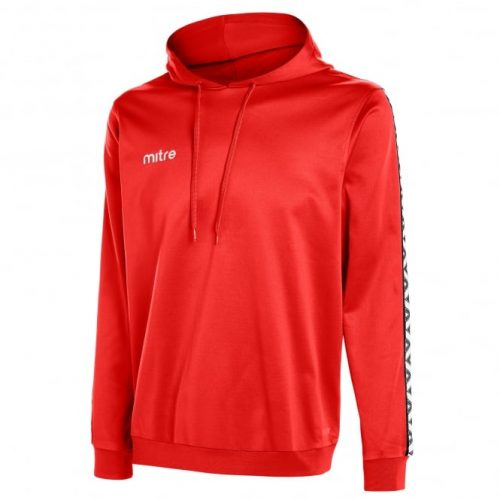 mitre delta poly hoody red