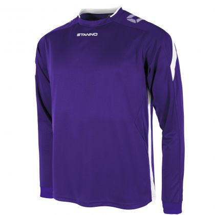 stanno drive shirt LS purple white