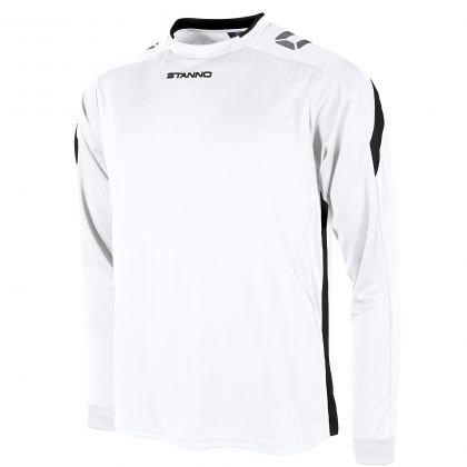 stanno drive shirt LS white black