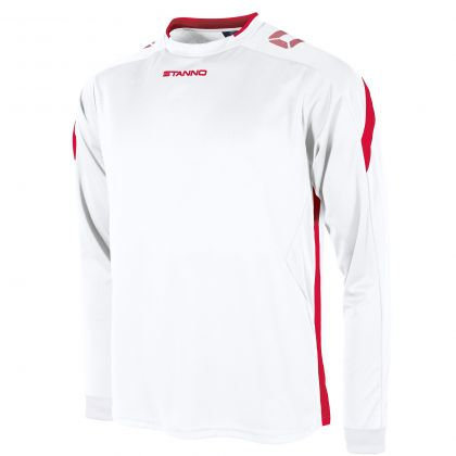 stanno drive shirt LS white red