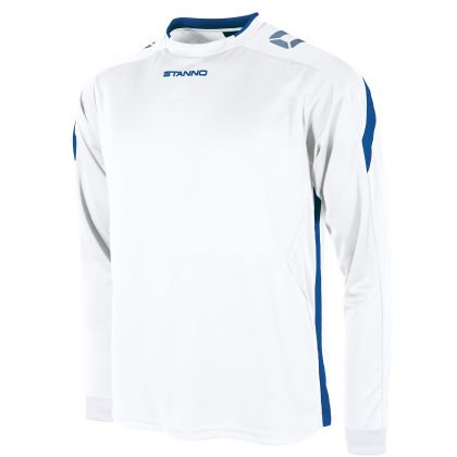 stanno drive shirt LS white royal