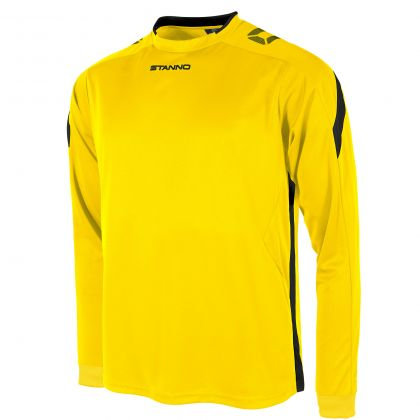 stanno drive shirt LS yellow black