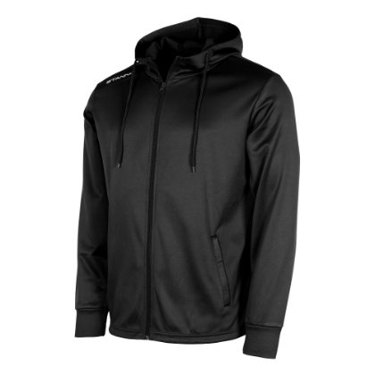 stanno field hooded jacket black