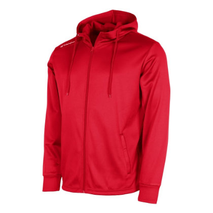 stanno field hooded jacket red