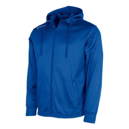 stanno field hooded jacket royal
