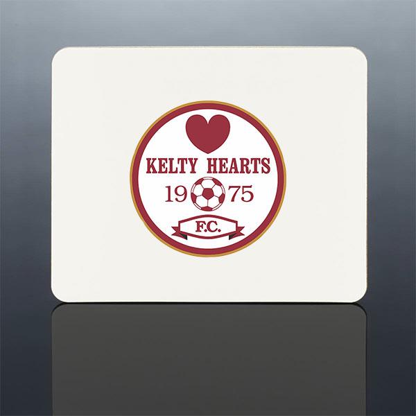 Kelty Hearts Coaster