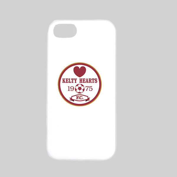 Kelty Hearts White Phone Case