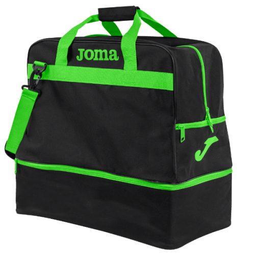 Joma lrg training bag black-green