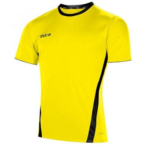 mitre origin yellow and black