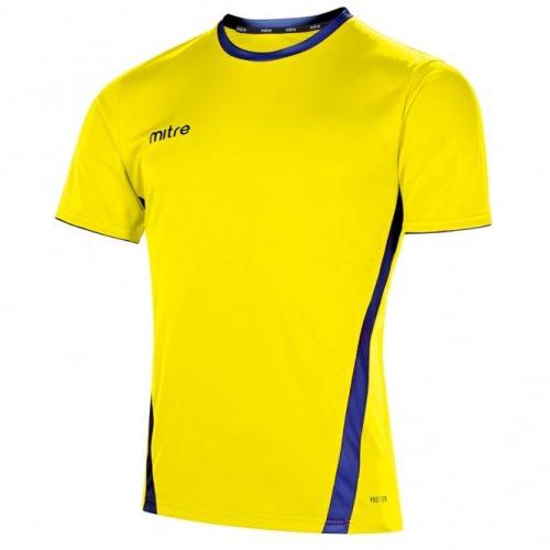 mitre origin yellow and blue