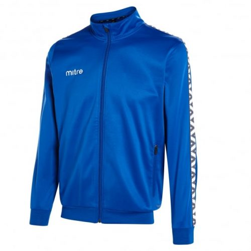 mitre poly tracksuit top royal