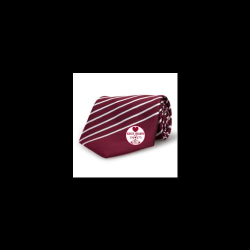 Kelty Hearts Premier Club Tie