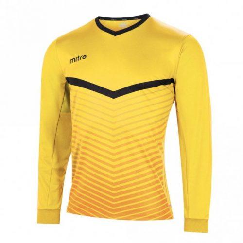 mitre unite top yellow and black